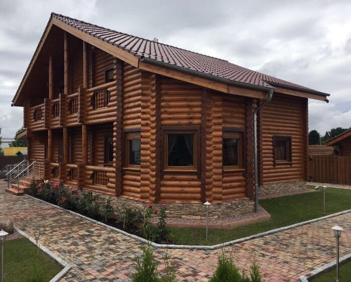 Russische Sauna Haupthaus